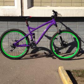 Покраска велосипедов