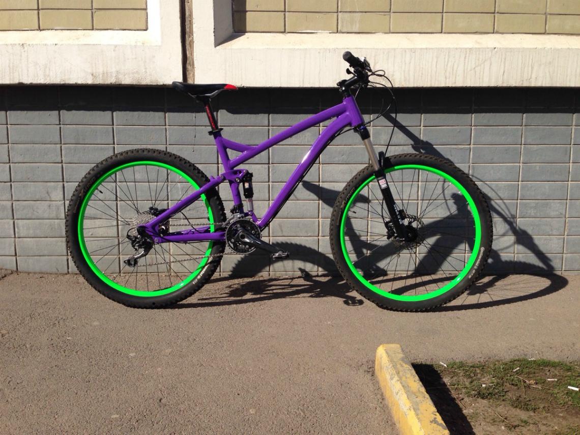 Как красиво покрасить велосипед картинки